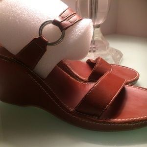 AUTHENTIC COACH WEDGE SANDALS SIZE US-10